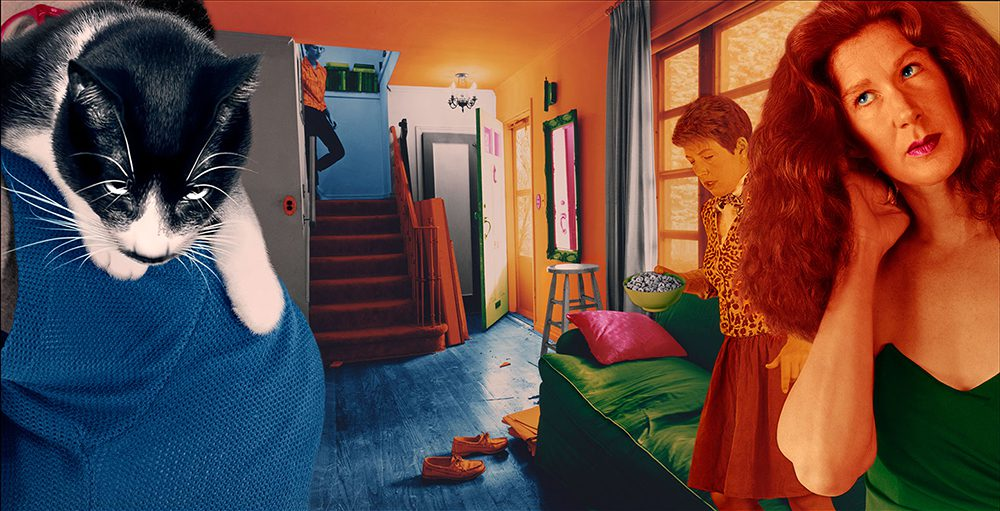 Sandy Skoglund The Sound of Food from True Fiction Two, 2005 Archival pigment inkjet 16 13/16 x 30 1/8 inches (42.7 x 76.52 cm) Edition of 10